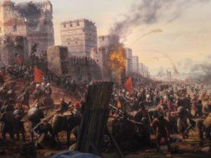 محاصره قسطنطنیه که در عین بی تفاوتی کشورهای اروپایی انجام شد