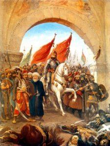 ورود سلطان محمد فاتح به قسطنطنیه