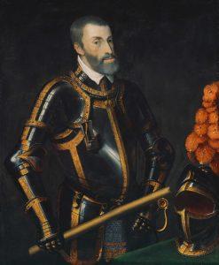 کارل پنجم امپراتور خاندان هاپسبورگ که اسپانیا و نیمی از اروپا زیر سلطه اش بود. او اصلی ترین دشمن و مانع امپراتوری عثمانی در قرن 16 میلادی بود