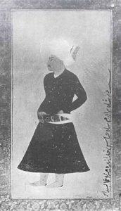 شاه محمد خدابنده پادشاه نیمه نابینا و بی اراده ایران. در دوران او مثل میرزا سلمان جابری،ملکه مهدعلیا و حیدرمیرزا ولیعهد کشور را اداره می کردند