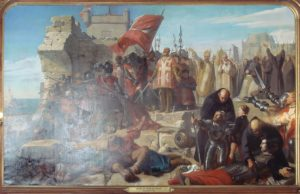 محاصره مالت در 1565. سلیمان مانند سال های آغازین سلطنتش بازهم از شوالیه های صلیبی شکست خورد