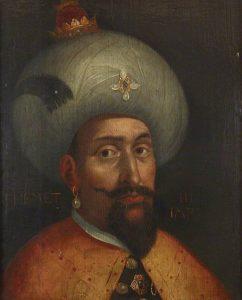 سلطان محمد سوم او با کشتار وحشیانه برادران و همسران پدرش سلطنت خود را شروع کرد