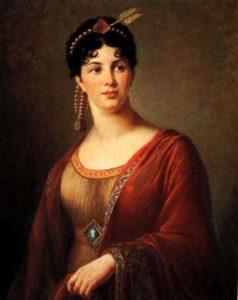 کوسم سلطان یا ماه پیکر همسر یونانی سلطان احمد اول. او بیش از سی سال صحنه گردان امپراتوری عثمانی بود و دخالت های او فجایع بسیاری را رقم زد