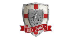 نماد اتحاد مقدس که به دست پاپ اینوسنت یازدهم ایجاد شده بود. این اتحادیه دردسرزیادی برای عثمانی ایجاد کرد