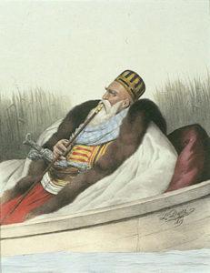 علی تبلن شورشی معروف منطقه آلبانی. سلیم سوم موفق به سرکوبی او نشد
