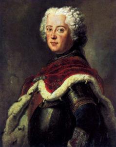 فردریک دوم امپراتور پروس. در دوره او روابط نظامی وسیاسی بین عثمانی و پروس آغاز شد