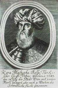 قره مصطفی رفیق و صدراعظم محمد چهارم. لشکرکشی او به وین یک فاجعه کامل بود