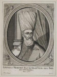 محمد کوپرلو صدراعظم لایق محمد چهارم. خاندان او عملا عثمانی را از خطر انقراض نجات داد