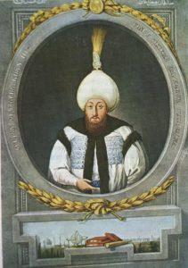 سلطان مصطفی سوم. او بسیاری از ساختمان های استانبول را بازسازی و شروع به نوسازی ارتش عثمانی کرد