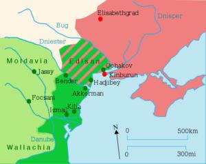تغییرات ارضی در عهدنامی یاسی