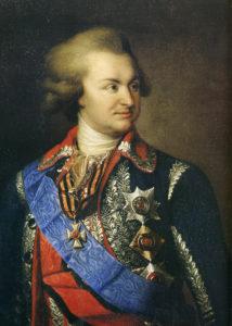 پرنس پوتمکین سردار محبوب کاترین کبیر نقش زیادی در پیروزی روسیه بر عثمانی داشت