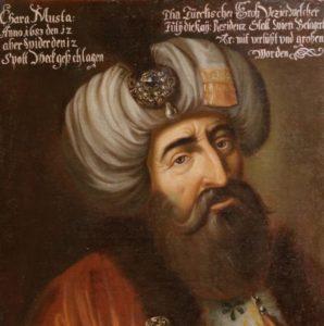 کارامصطفی صدراعظم لایق عثمانی . کاردانی او در دوره ابراهیم اول مانع از فروپاشی این کشور شد
