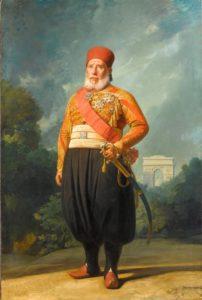 ابراهیم پاشا پسرلایق و نخبه محمد علی پاشا. او امپراتوری عثمانی را تا مرز فروپاشی پیش برد