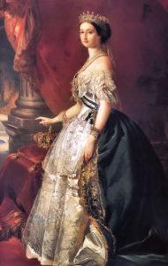 امپراتریس اوژنی. ملکه فرانسه. او برای افتتاح کانال سوئز ابتدا به استانبول و سپس به مصرسفرکرد