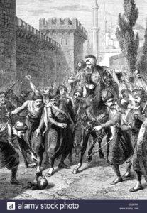 مصطفی پاشا بیرق دار و طرفدارانش در ماه های اول سلطنت سلطان محمود دوم قدرت بی رقیب عثمانی بودند