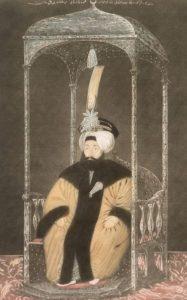 سلطان محمود دوم قبل از تغییر لباس