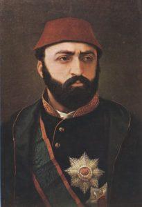 سلطان عبدالعزیز امپراتور جدید عثمانی فردی تنومند اما بارفتارهای عجیب بود