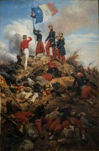 سربازان فرانسوی در جنگ کریمه نقش پررنگی داشتند