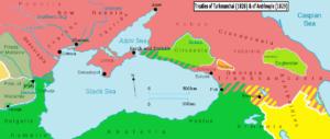 مناطق از دست رفته برطبق معاهده آدریانوپ