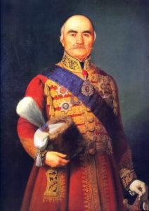 میلوش اوبروونویچ رهبر استقلال طلبان صربستان. او پایه گذار استقلال این کشور درقرن نوزدهم میلادی شد