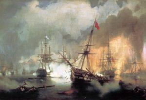 نیروی دریایی روسیه در نبرد ناوارینو