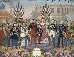 نمایشگاه جهانی پاریس در سال 1867 با حضور بسیاری از سلاطین دنیا از جمله سلطان عبدالعزیز انجام شد