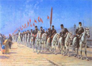 نیروهای عساکر محمودیه واحد جدیدی که جایگزین ینی چری ها شدند