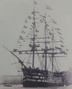 کشتی جنگی محمودیه اولین کشتی بخارعثمانی و تا سالها بزرگترین کشتی جنگی دنیا بود