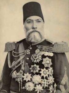 عثمان پاشا فرمانده لایق ارتش عثمانی. او در شهرپلونا یک خط دفاعی مستحکم در برابر روسها ایجاد کرد