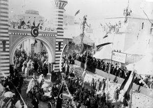 ورود امپراتور آلمان به بیت المقدس. سخنرانی شورانگیز ویلهلم موجب شیفتگی بسیار از مسلمانان به آلمانی ها شد