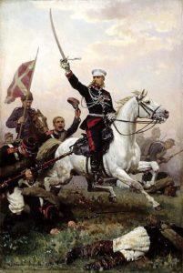 ژنرال اسکوبلف دشمن لایقی برای عثمان پاشا بود و موفق به تسخیر استحکامات اطراف پلونا شد