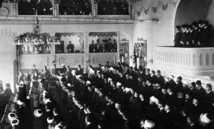 دومین پارلمان عثمانی که با فشار انقلابیون 1908 تشکیل شد