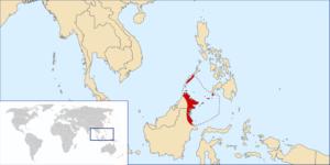 پادشاهی مسلمان نشین سولو . این کشور در مجاورت فیلیپن مستعمره آمریکا قرار داشت و از شورش موروها حمایت می کرد