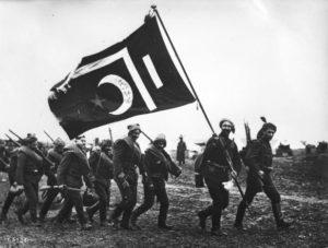 سربازان عثمانی در جنگ بالکان. ارتش این کشور نقاط ضعف فراوانی داشت