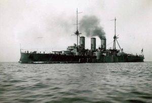 رزم ناو جورجیوس آواروف ستاره نیروی دریایی یونان در جنگ بالکان. جالب اینکه تا اواسط دهه 40 میلادی در خدمت بود و اکنون در موزه نظامی نگه داری می شود