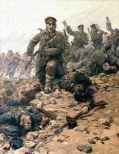 سربازان ارتش بلغارستان. این کشور بهترین ارتش را در بالکان داشت و به پروس بالکان معروف بود
