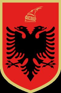 نماد انقلابیون آلبانیایی. آنها دردسر فراوانی برای عثمانی ایجاد کردند