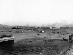 نیروی دریایی یونان در جنگ اول بالکان بشدت تعیین کننده و اثرگذار بود