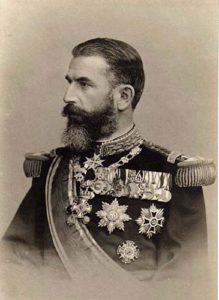 کارول اول پادشاه رومانی. ورود این کشور به معادلات پیچیده اختلافات بالکان وضع بلغارستان را بدتر از همیشه کرد