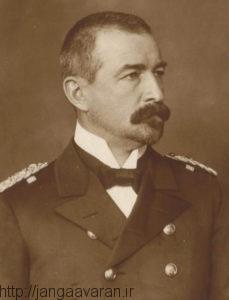 دریاسالار زوشن. فرمانده دوناوشکن آلمانی. عملیات خودسرانه او دردریای سیاه پای ترکها را به جنگ چهانی اول باز کرد