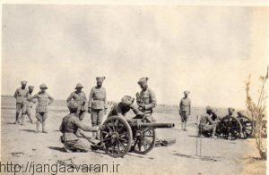 سربازان هندی در جنوب عراق. هندی ها نقش اساسی در نبرد های بین النهرین داشتند