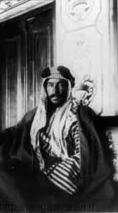 شیخ مبارک الصباح امیر وقت کویت. او به خوبی از وضعیت جنگ جهانی اول استفاده کرد و پایه های استقلال کویت را بنا کرد