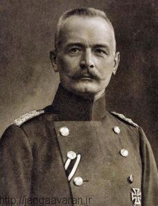فون وانگنهایم سفیر وقت آلمان در عثمانی . او نزدیک ترین دوست انورپاشا در روزهای قبل از جنگ چهانی اول بود