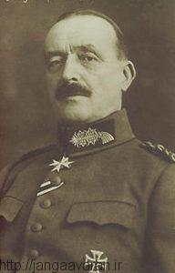 مارشال فن اشتاین. سفیر آلمان در سالهای پایانی قرن 19 در عثمانی. او مدافع سرسخت نظریه تقویت رابطه با ترکها بود