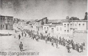 اعزام اسرای ارمنی خارپرت به سوریه. از 18 هزار اسیر تنها 1500 نفر به سوریه رسیدند