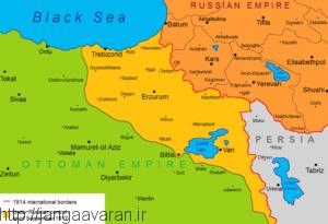 بیشترین پیشروی روسها در خاک عثمانی. در همین مناطق منطقه خودمختار ارمنستان غربی تشکیل شد
