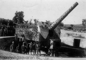 توپخانه ساحلی قدرتمند ارتش عثمانی که با کمک آلمانی ها ایجاد شده بود. دردسرهای زیادی برای کشتی های متفقین ایجاد کرد