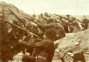 دفاع سرسختانه فداییان ارمنی از شهر وان