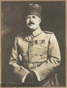 فایک پاشا. اختلافات او فون سندرز باعث شکست عثمانی در نبرد گالی راوینا شد