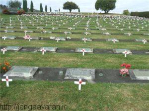 قبرستان کشته های نیروهای آنزاک در نیوزلند